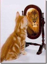 Qui voyez-vous dans le miroir - Ombre - Lumière