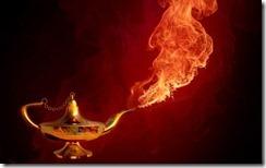 genie-lampe