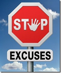 Stop aux excuses